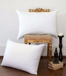 DUCK FEATHER AND DOWN PAIR PILLOW EXTRA FILLING TOP QUALITY PILLOWS