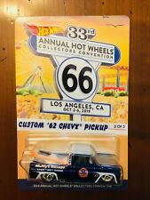 2019 33RD ANNUAL HOT WHEELS COLLECTORS CONVENTION CUSTOM '62 CHEVY PICKUP
