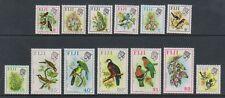 Fiji - 1972/4, 2c - $2 QEII Bird & Flower stamps - Wmk Sideways -L/M - SG 459/73