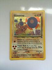 Pokemon Cards Neo Discovery Set Holofoil Holographic  Hitmontop  (1) Card
