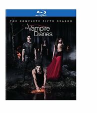Vampire Diaries Complete Fifth Season 5 Five ~ BRAND NEW 4-DISC BLU-RAY SET