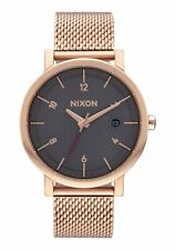 Nixon Watch Rollo 38 SS All Rose Gold / Charcoal / A1087-2449 / A1087 2449
