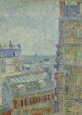 Theo's Apartment, 1887, VAN GOGH, Realism, Post-Impressionism Art Poster