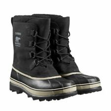 NEW Mens  Black Sorel Caribou  Rain Winter  Snow Waterproof Boots  Size 12