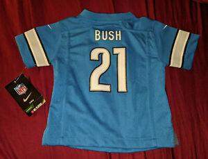 Reggie Bush Detroit Lions #21 NFL Nike On Field Jersey Kids 18m 18 Mo Months NEW