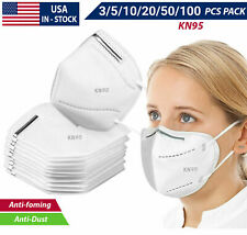 5 10 100PCS K-N95 Face Mask Mouth Cover Disposable Masks Respirator KN95