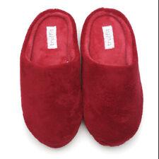 Chinelos Feminino Slip-on aconchegante Quarto Interior confortável sapatos Tamanco De Pelúcia