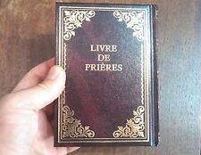 "6"" Siddur Hebrew French Livre De Prières Hebreu Francais Juif Siddour, Synagogue"