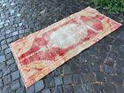 Handmade wool rug, Turkish vintage rug, Carpet, Bohemian rug | 2,5 x 5,4 ft