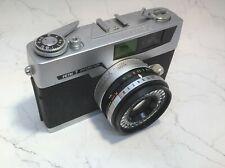 PETRI 7 Green-O-Matic System Vintage Fixed Lens Rangefinder Film Camera