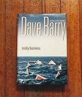 """DAVE  BARRY Signed  Book (""""TRICKY  BUSINESS""""- 2002  First  Edition  Hardback)"""