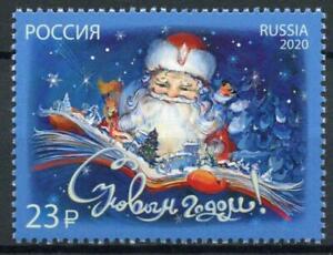 Russia 2020 MNH Christmas Stamps New Year Santa Seasonal 1v Set