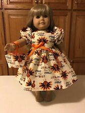 "18"" Doll Clothes American Made Thanksgiving Gobble till you Wobble!    Set #2"