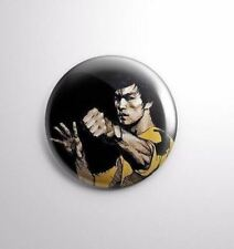 BRUCE LEE KUNG FU-  Pinbacks Badge Button 25mm 1'' ...