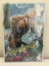 Justice League Aquaman Metal Sign 9X13 Sealed