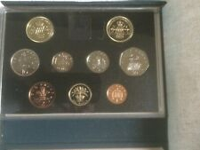 More details for 1989 royal mint coin proof set c.o.a, claim of rights/ bill of rights £2 coins