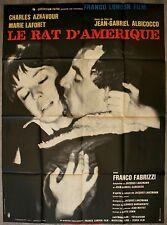 LE RAT D'AMERIQUE Affiche Cinéma / Movie Poster CHARLES AZNAVOUR