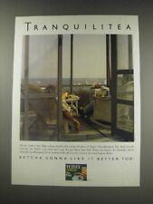1991 Tetley Tea Ad - Tranquilitea
