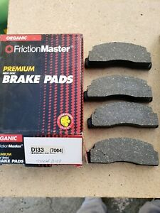 Disc Brake Pad Premium Front Friction Master fits 78-80 Ford Fiesta NOS