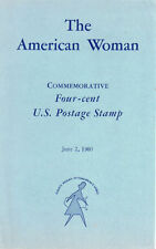 #1152 First Day Ceremony Souvenir 4c American Woman Stamp