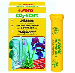 sera CO2-Start Kohlendioxiddüngung mit Tabletten für Aquarien 30 bis 120 Liter
