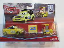 DISNEY PIXAR CARS CHIEF RPM - PETROL PULASKI 2 CAR PACK