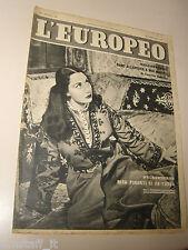 EUROPEO=1953/48=RITA PIRONI CARUSO=FILIPPO DE PISIS=PAOLO STOPPA=GIUSEPPE PELLE