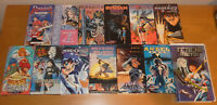 Anime VHS Video Lot of 13 - BATTLE ANGEL, ANGEL COP, FINAL FANTASY, M.D. GEIST +
