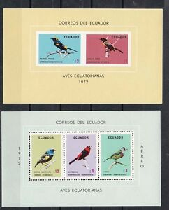 1973 two s/s birds,MNH           d1303