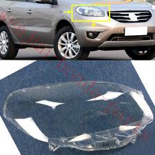Right Side Transparent Headlight Cover + Glue Replace For  Renault Koleos 12-16A