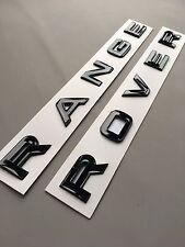 Range Rover Gloss Black Letters Lettering Bonnet Boot Tailgate Sport Vogue Evoqu