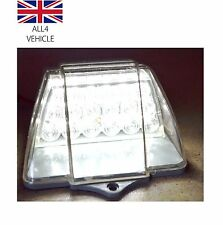 1 PCS WHITE 18SMD LED CAB ROOF TOP FRONT MARKER LIGHTS TRUCK SUV 4x4 PICK UP