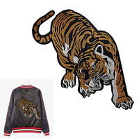 Tiger Embroidered Applique Sew Iron on Cloth Patch Badge For Jacket Jeans U X