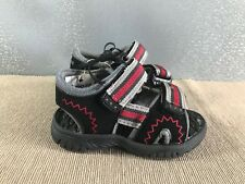 BNWT Little Boys Sz 6 Super Cute Red Black Pair of Reef Sandals Beach Thongs