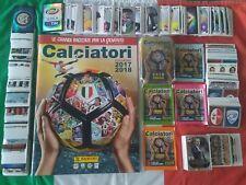 Album Calciatori 2017 2018 panini con SET completo di tutte le figurine + timbro