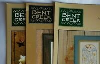 Bent Creek Counted Cross Stitch Patterns Charts You Choose