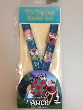 Disney Pins Alice In Wonderland Lanyard Booster Set