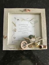 """Hallmark Marjolein Bastin Plaque w easel """"The best things in life.� 6 1/2�"""