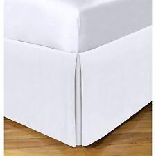 "Tailored Bed Skirt 14"" Drop ~ White ~ Full 54x75 *New*"