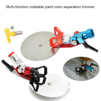 "For Sprayly Pro Paint Baffle Adjustable Universal 7/8"" Spray Guide Tool 1 Set"
