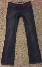Ed Hardy by Christian Audigier Girls Jeans Size 27 Disttressed Stright Leg