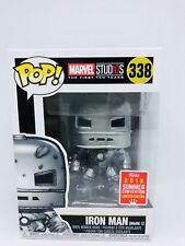 Funko Pop Marvel Studios Iron Man Mark 1 SDCC 2018 Exclusive (BNIB) Protector