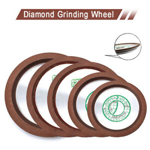 """4-6"""" Butterfly Diamond Grinding Wheel For  Carbide Cutter Grinder Disc 150-320#"""