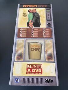 CAMERA CAFE COFFRET 18 DVD LA MACHINE A DVD EDITION LIMITEE RARE