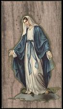 "santino-holy card""""ediz. NB serie OAK  n.5 MARIA IMMACOLATA"