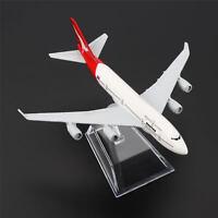 1:400 16cm B747 Australia Qantas Airline Diecast Models Aircraft Plane Toy Gift