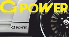 2 x BMW G-Power 001
