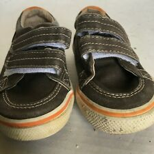 Sperry Top-Sider  Blue HALYARD H & L Canvas Loafers Boat Shoes Toddler size 6M