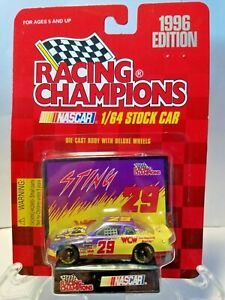 """Racing Champions """"Sting""""  #29 WCW Wrestling 1/64 Diecast 1996 Edition"""