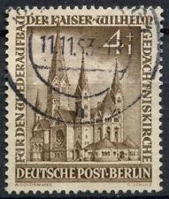 Berlin 1952-3 SG#B106, 4pf Memorial Church Used Cat £24 #A85005
